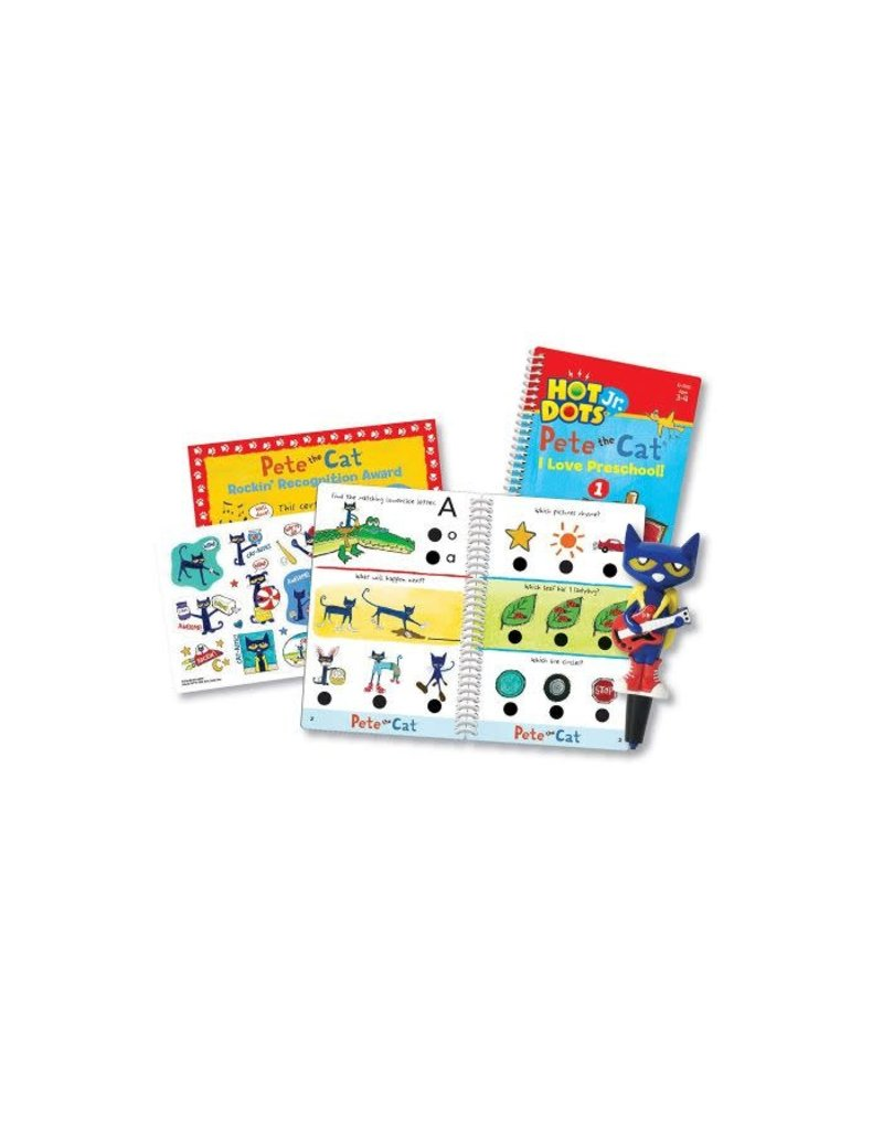 HD JR. PETE THE CAT I LOVE PRESCHOOL