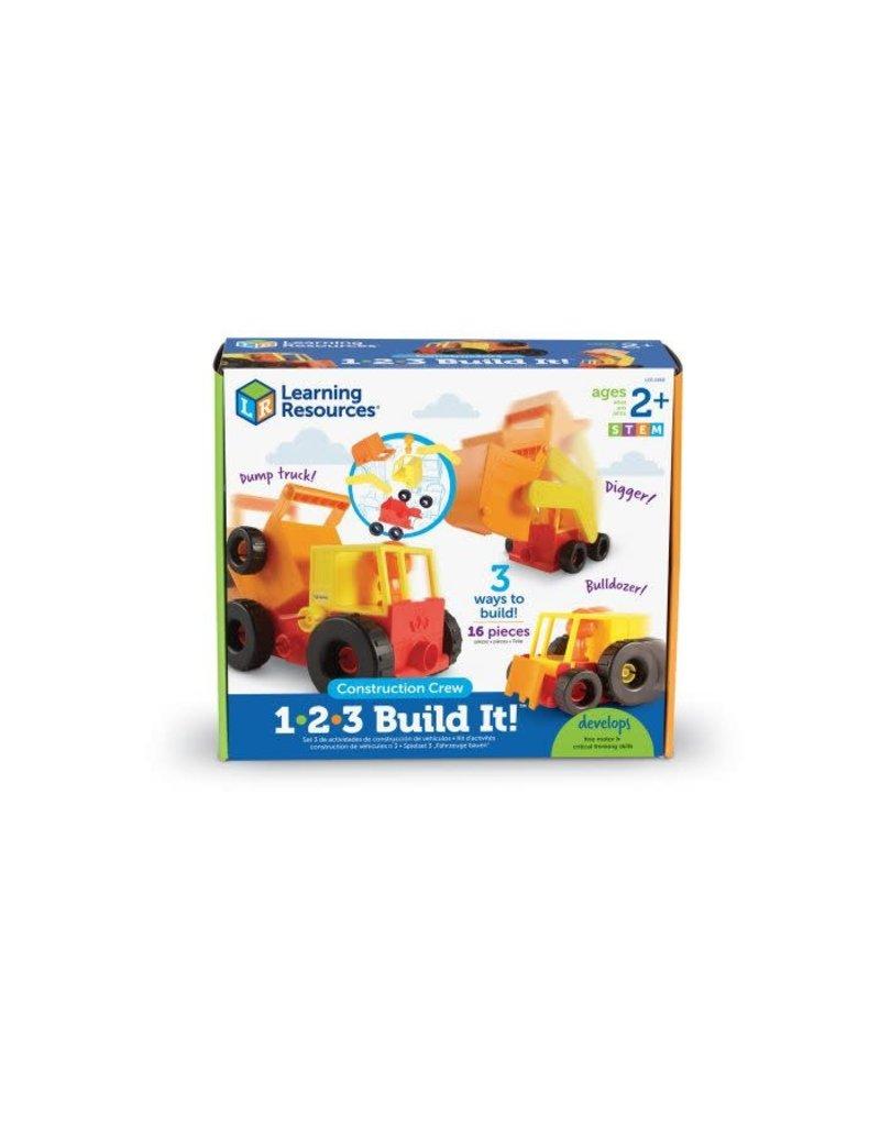 1-2-3 Build It! Construction Crew
