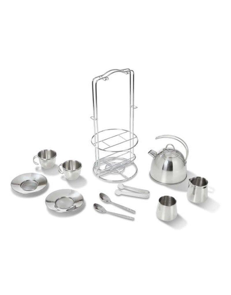 Metal Tea Set