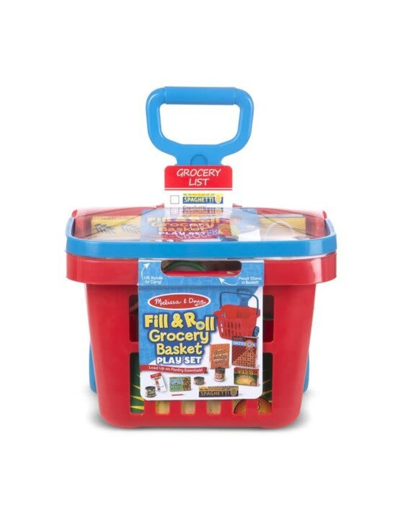 Fill and Roll Grocery Basket