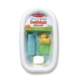 Mine to Love Bathtub Play Set - White