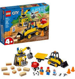 LEGO City Great Vehicles Construction Bulldozer