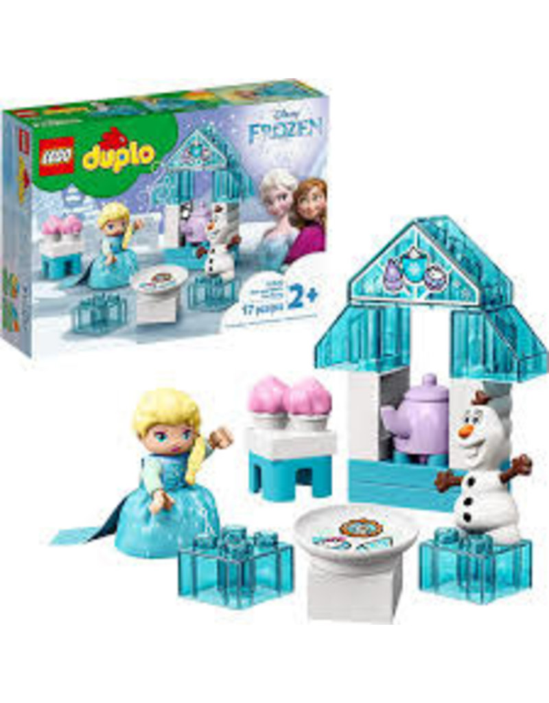 LEGO DUPLO Princess TM Elsa and Olaf's Tea Party