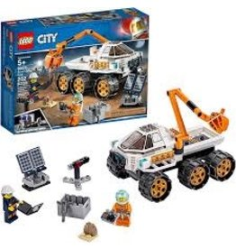 LEGO City Space Port Rover Testing Drive