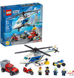 LEGO City Police Police Helicopter Chase