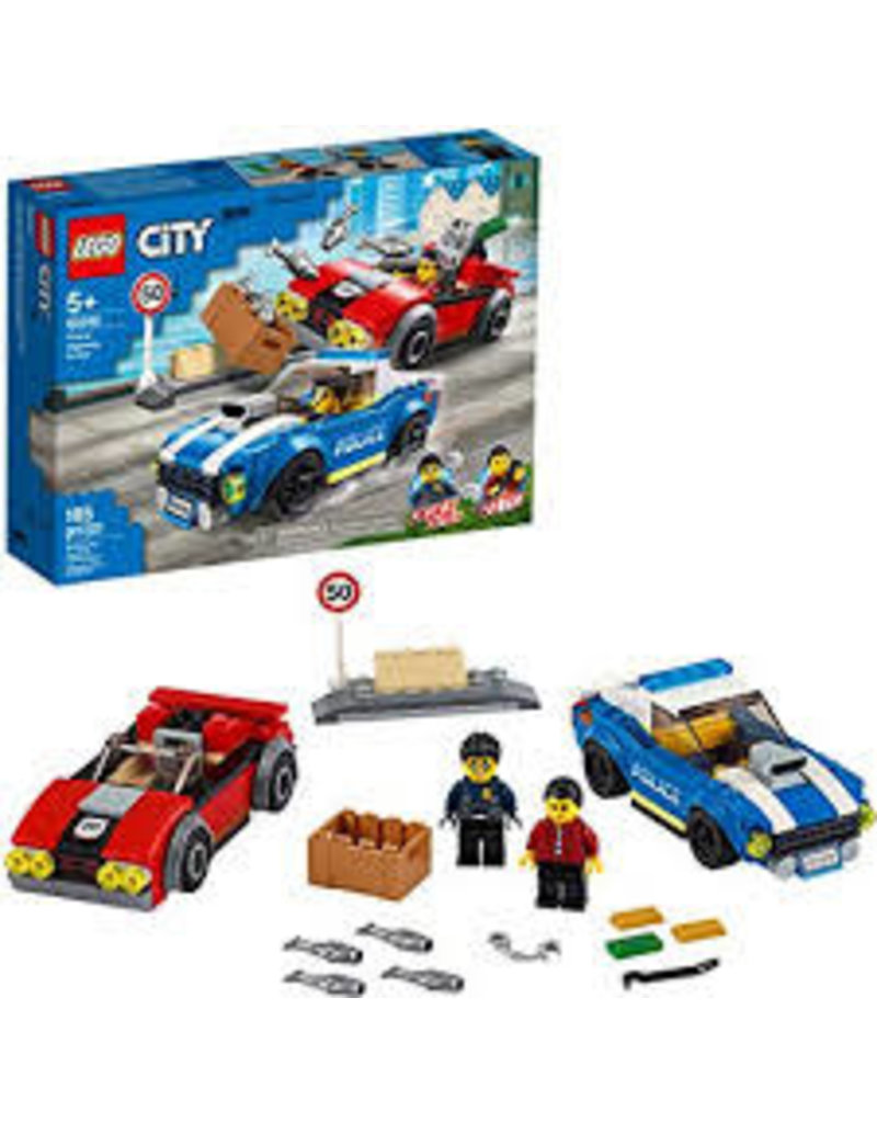 LEGO City Police Police Highway Arrest