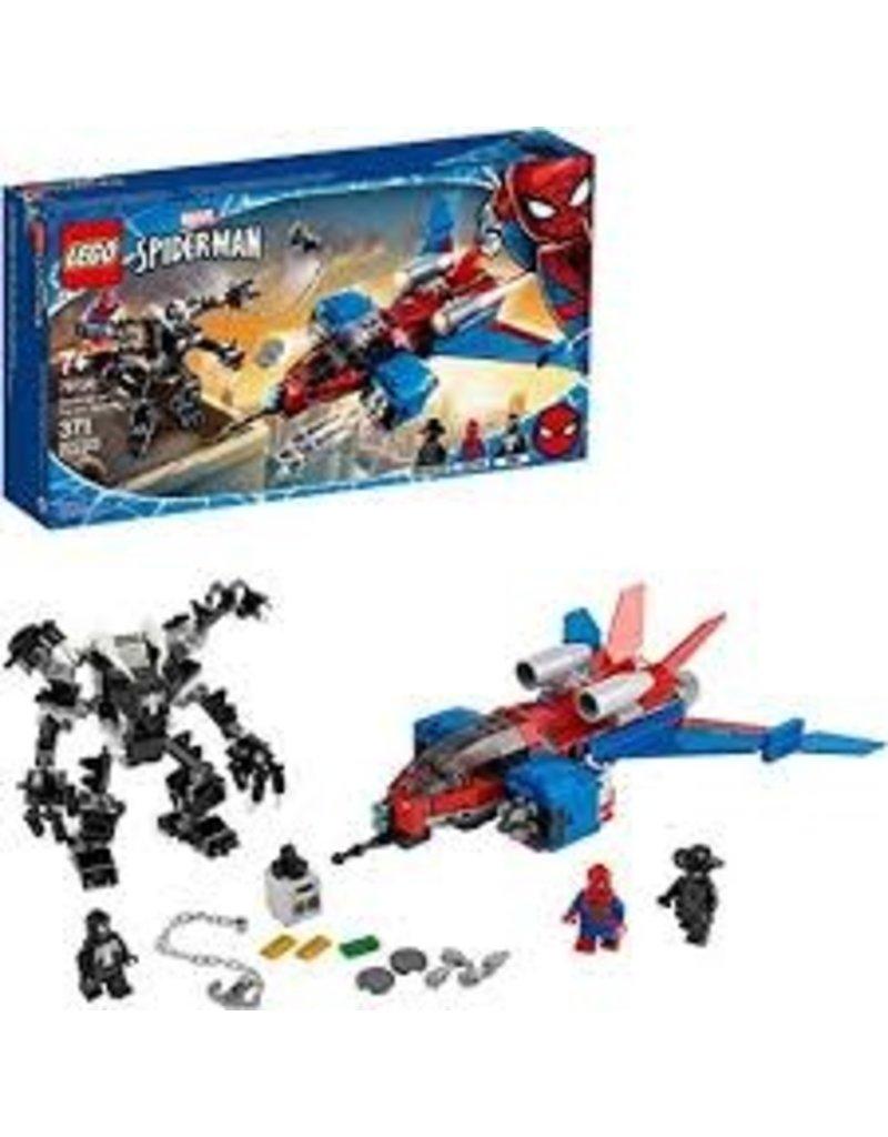 LEGO Super Hero Spiderjet vs. Venom Mech
