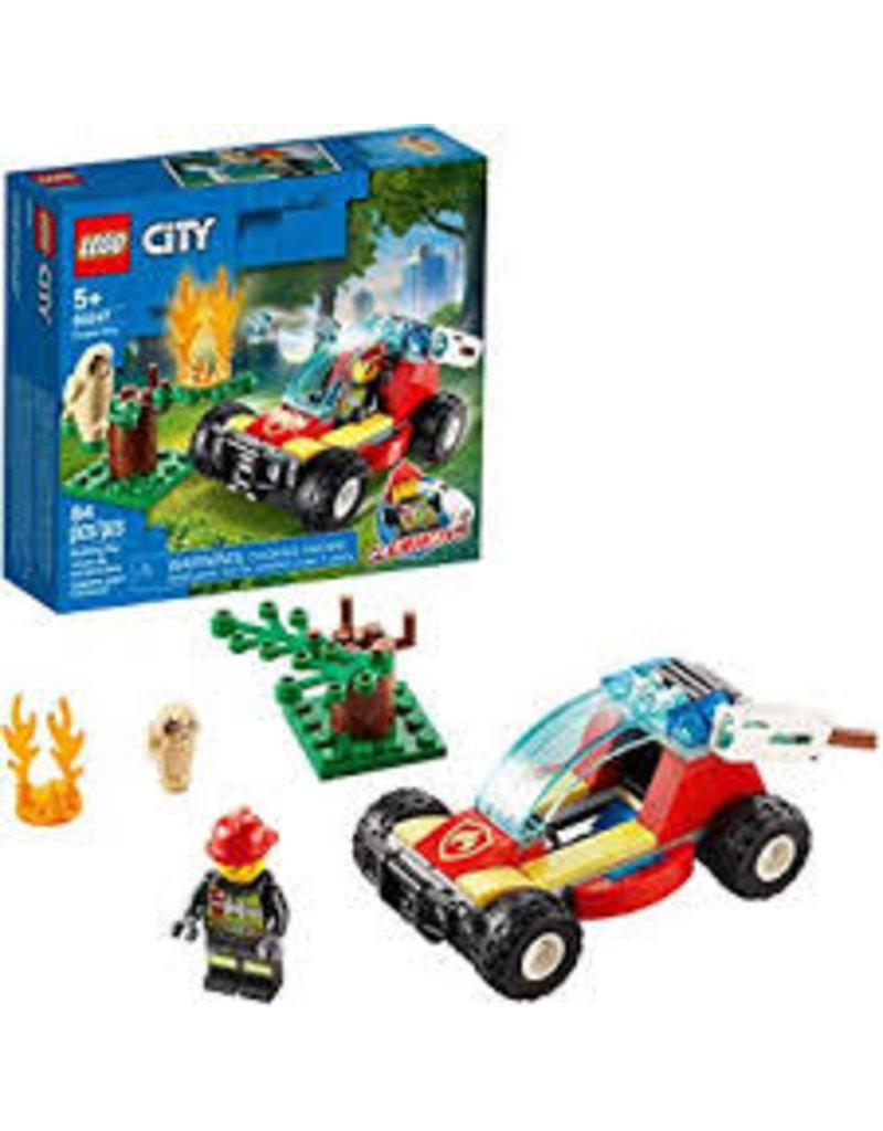 LEGO City Fire Forest Fire