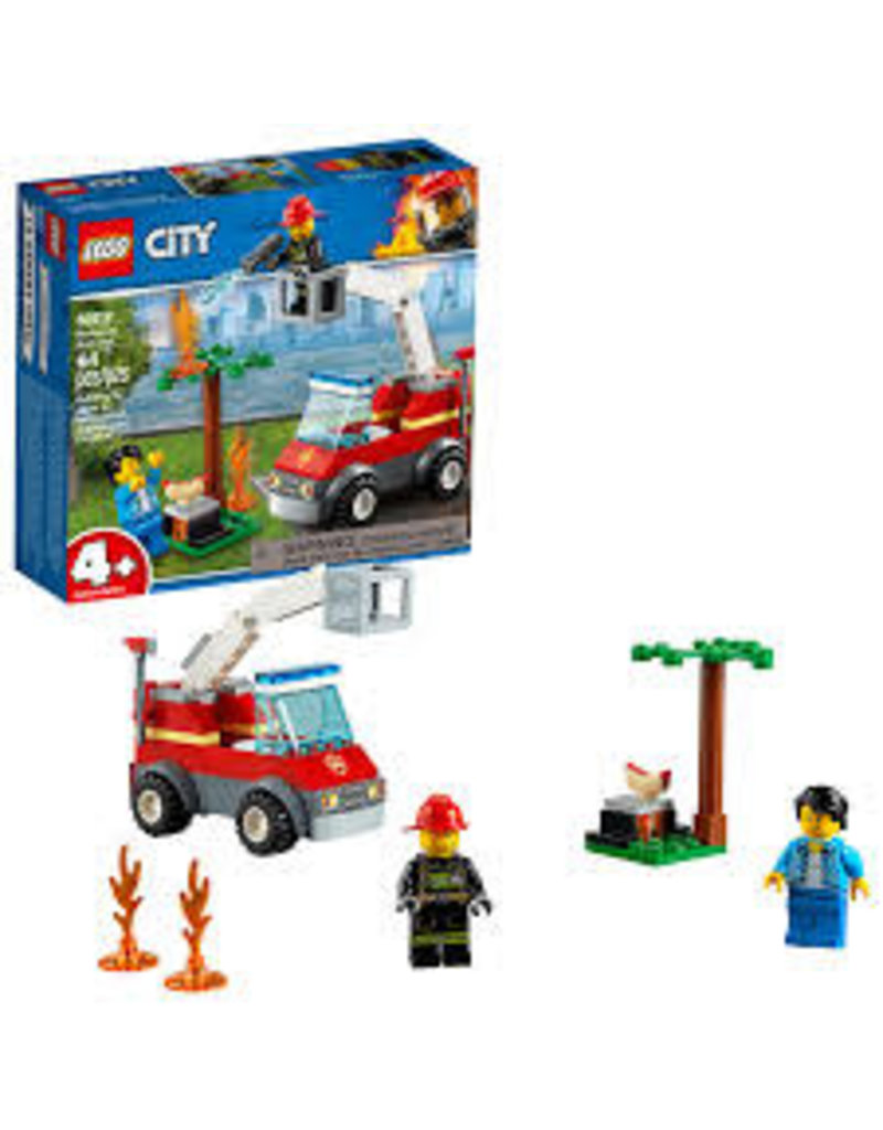 LEGO City Fire Barbecue Burn Out