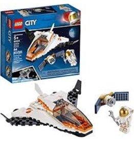 LEGO City Space Port Satellite Service Mission