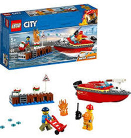 LEGO City Fire Dock Side Fire