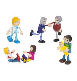 Wooden Flexible Figures-Family