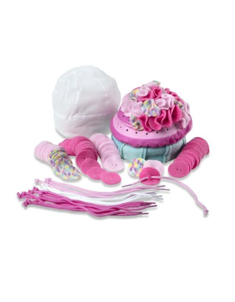 Fluffy Cupcake Fleece Craft Kit