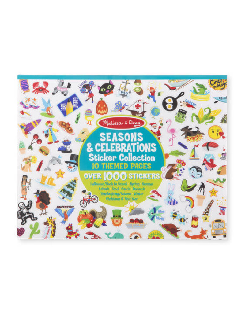 Celebrations, Seasons and More Siticker Collection