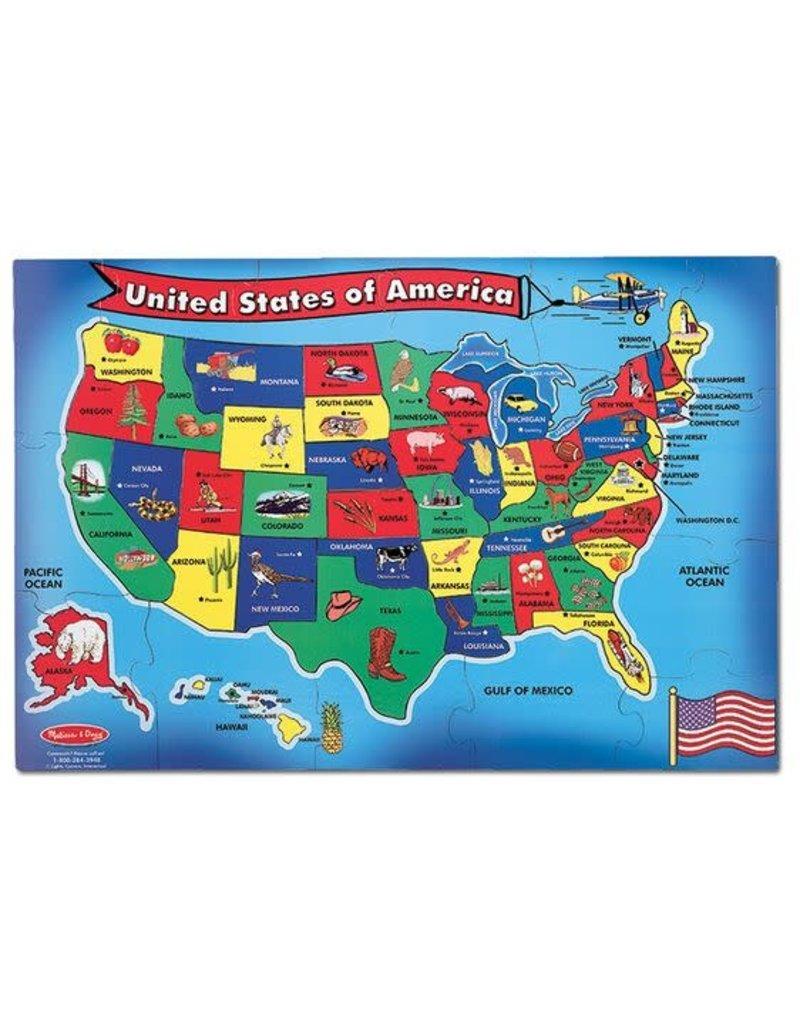 U.S.A. Map Floor (51 pc)