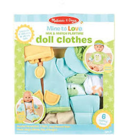 Mix & Match Playtime Clothes Blue/Green