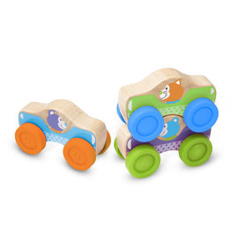 First Play! Animal Stacking Cars