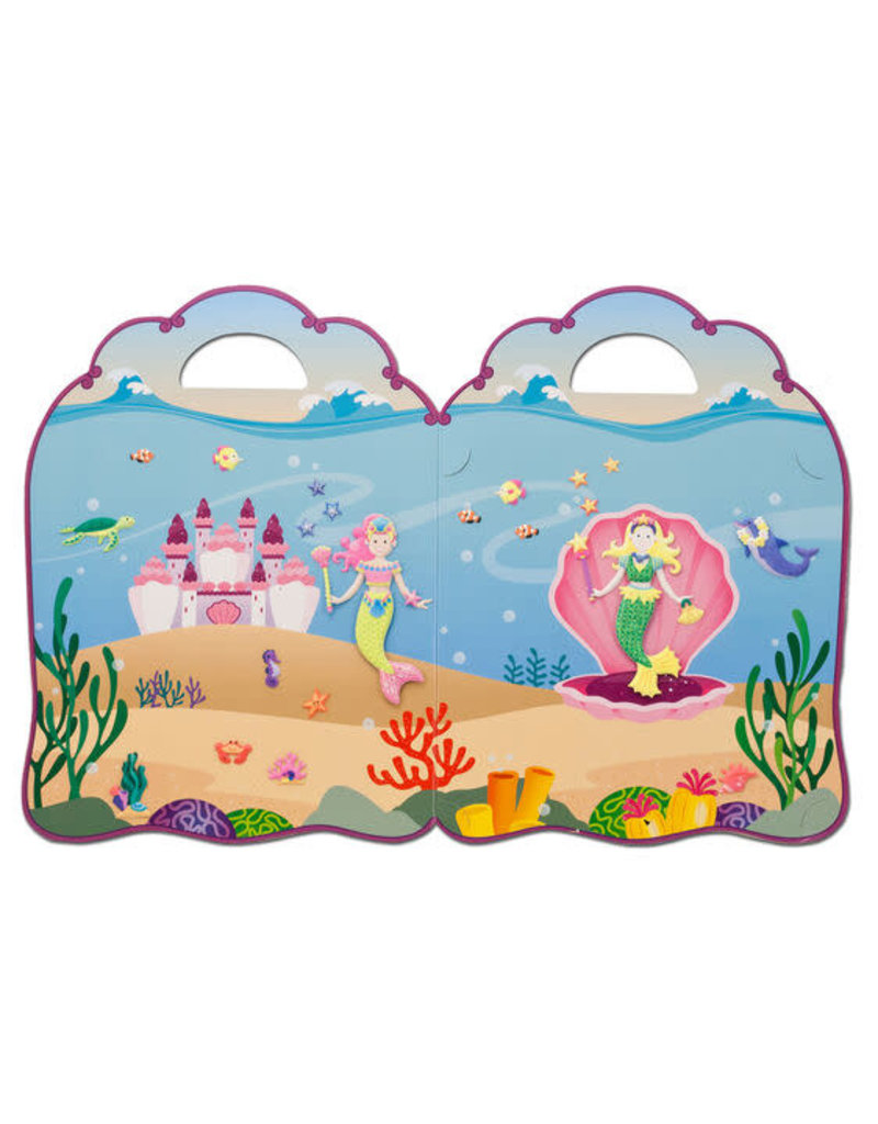 Puffy Sticker Play Set-Mermaid