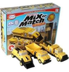 Magnetic Build-a-Truck Construction