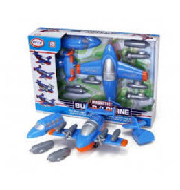 Magnetic Build-a-Plane