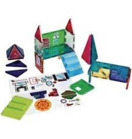Magna-Tiles House 28 Piece Set - size: 11 x 2.5 x 10 inches