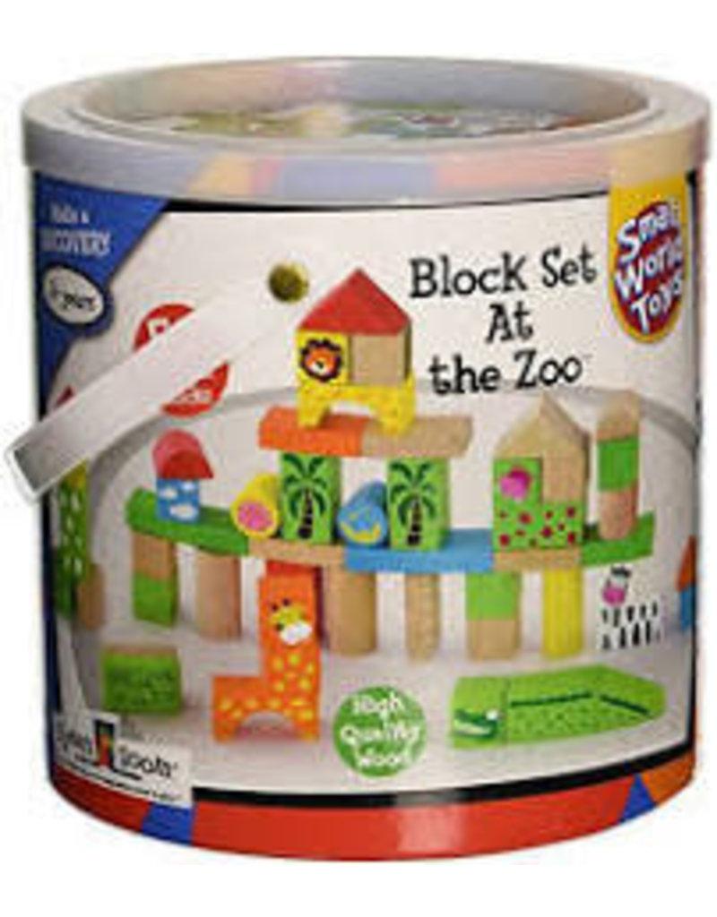 50 PC Block Set - At The Zoo