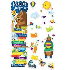 Reading Door Decor