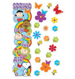 Peanuts Spring Door Decor