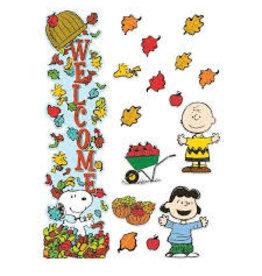 Peanuts Fall Door Decor
