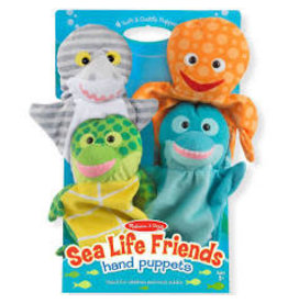 Sea Life Friends Puppets