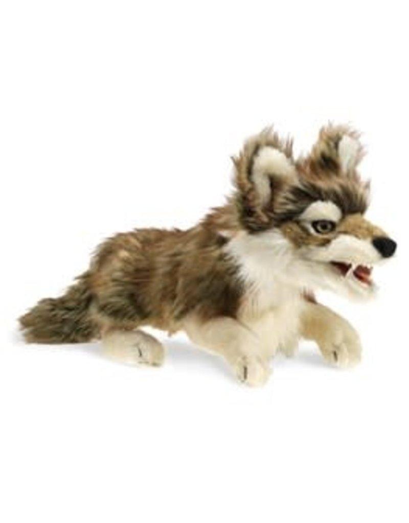 Gray Wolf puppet
