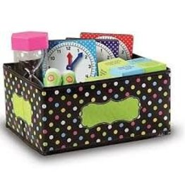 Small Storage Bin Chalkboard Brights