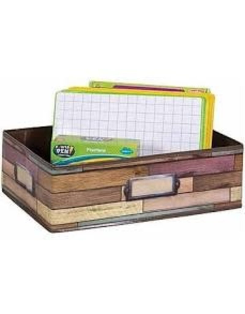 Reclaimed Wood Storage Bin