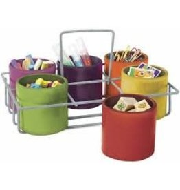 Sensational Classroom Blooming Colors 6-Cup Caddy