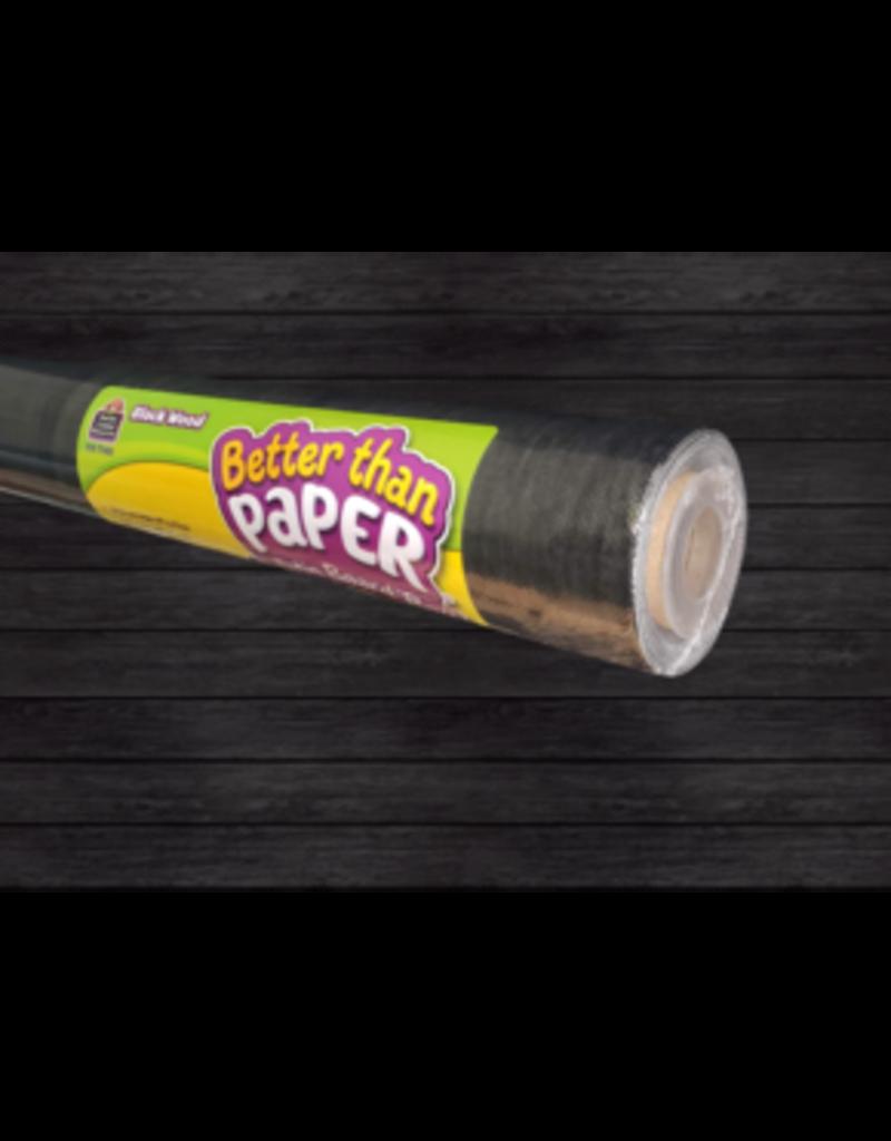Better Than Paper Black Wood
