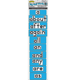1st 100 Level 1 Magnetic Wall Words (Blue)