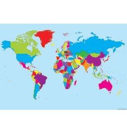 World Map Poly Chart