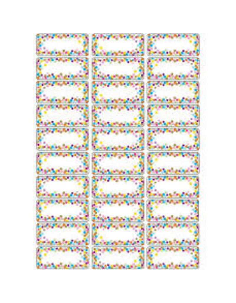 Magnetic Nameplates Confetti 30 pcs