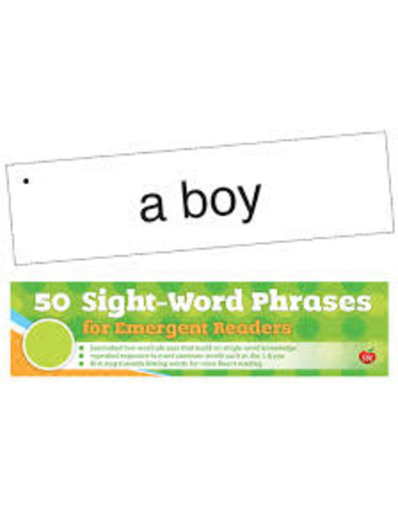 50 Sight-Word Phrases for Emergent Readers