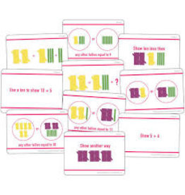 Hands-On Tally Marks 1st Grade Card Pack