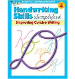 Handwriting Skills  Improving Cursive Grade 4