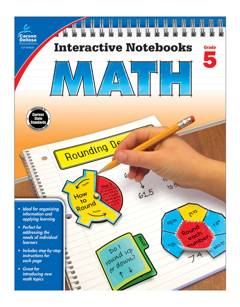 Interactive Notebooks Math
