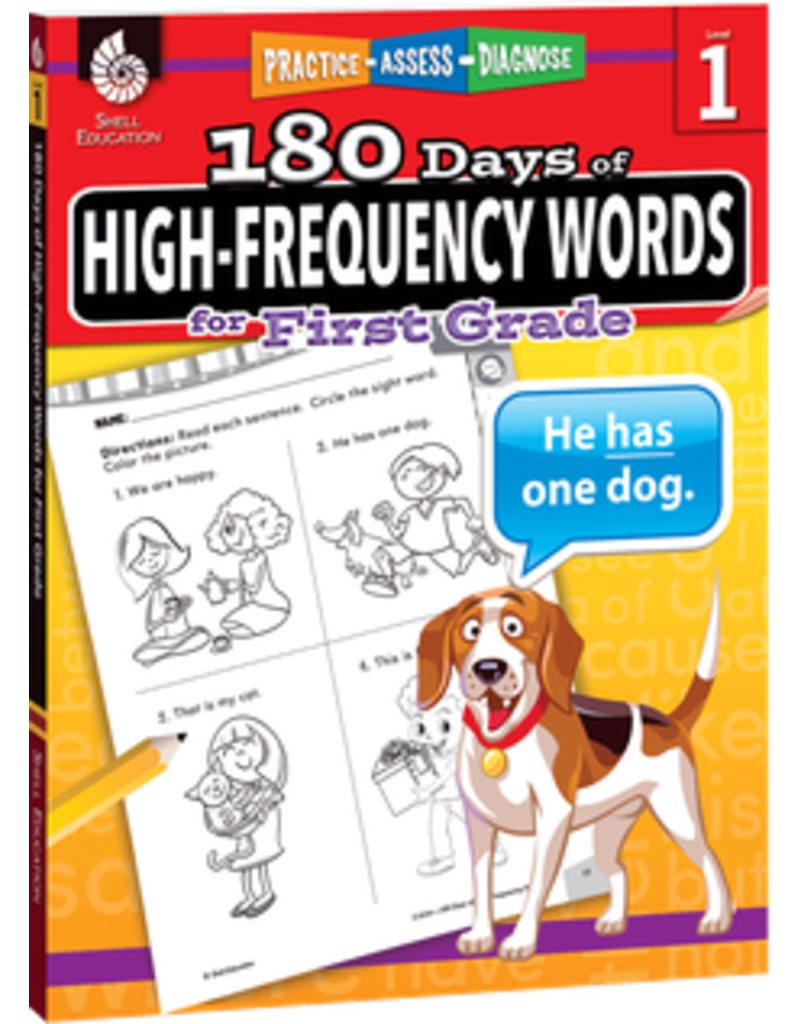 180 Days of High-Frequency Words