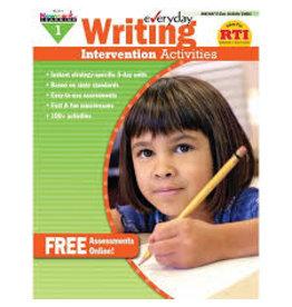 Everyday Writing Intervention Activities
