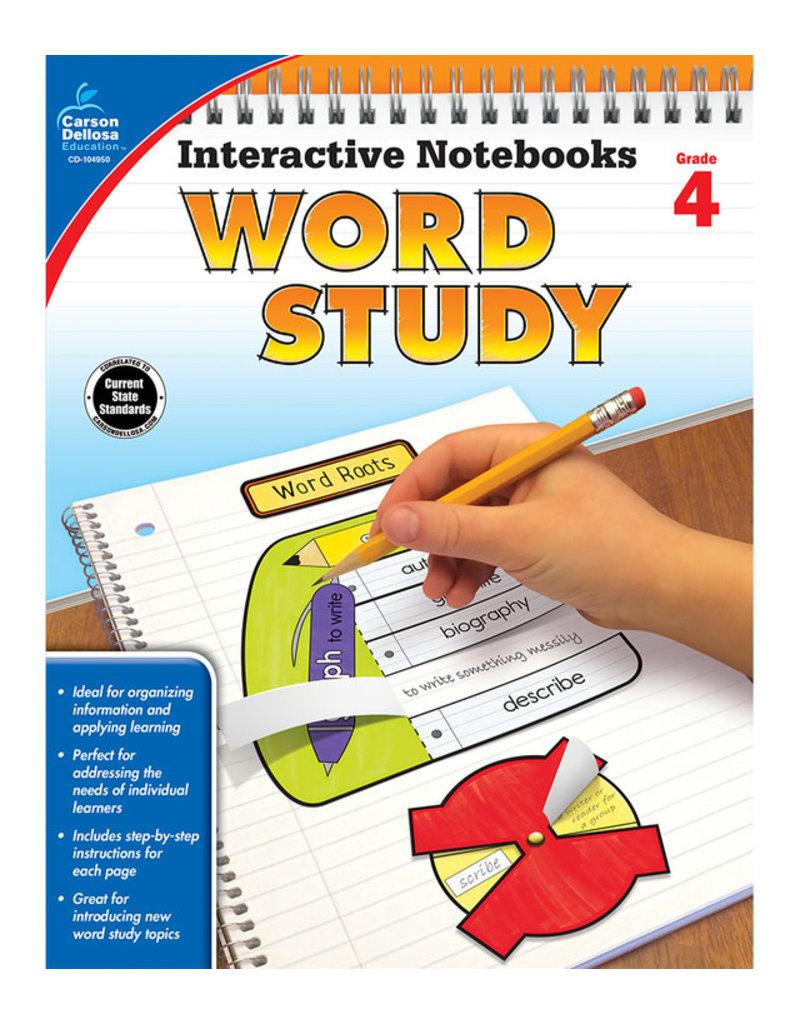Interactive Notebooks Word Study