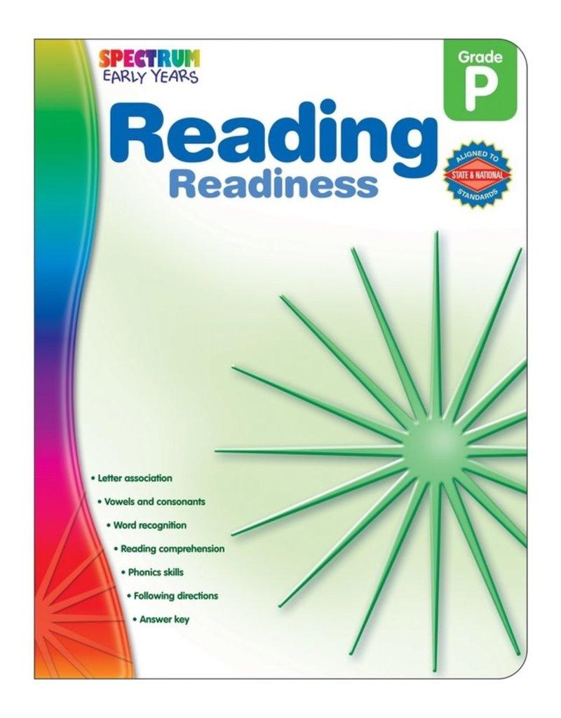 Spectrum Reading Readiness (Pre K)
