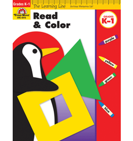 Learning Line: Read and Color