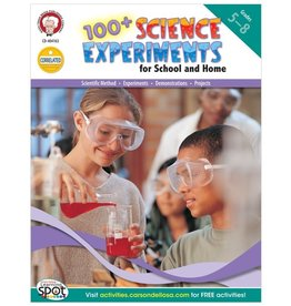 100+ Science Experiments for School and Home (5–8) Book