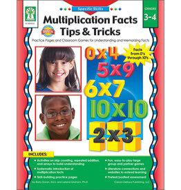 Specific Skills: Multiplication Facts, Tips & Tricks Book