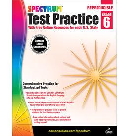 Spectrum® Test Practice Grade 6